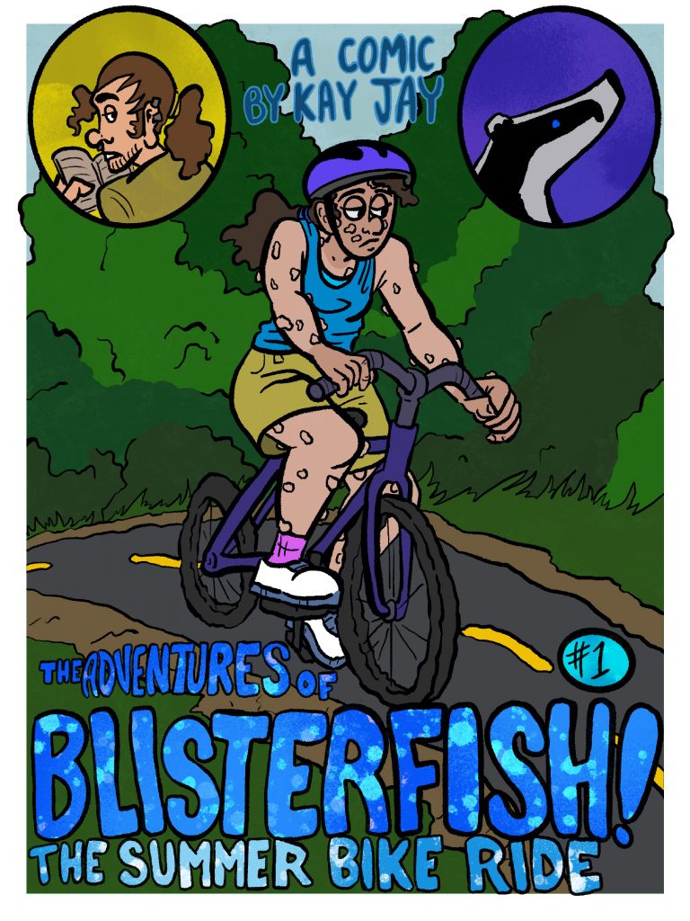 Cover page for Chapter One of Blisterfish.