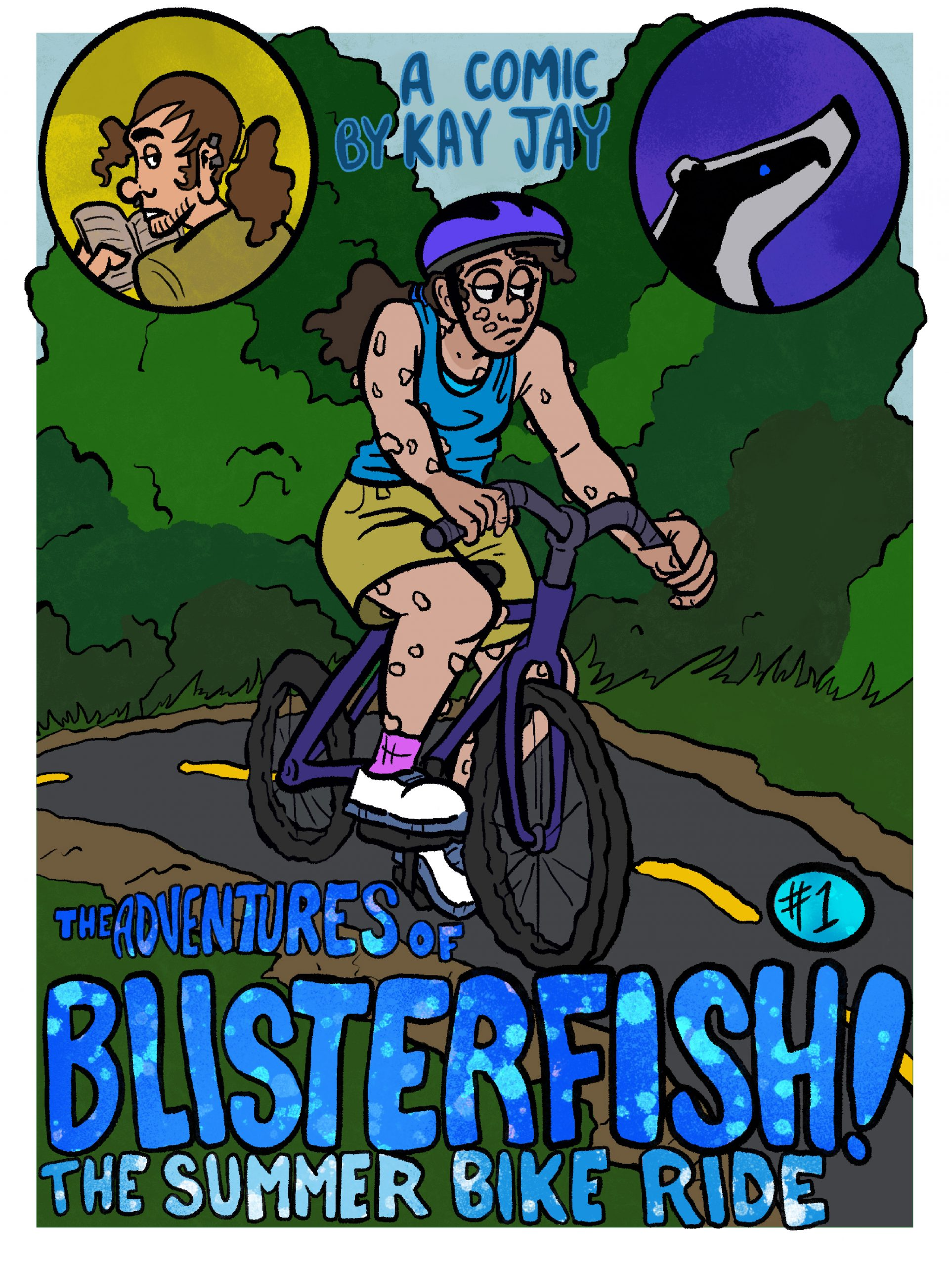 1.0 The Adventures of Blisterfish Chapter One-The Summer Bike Ride
